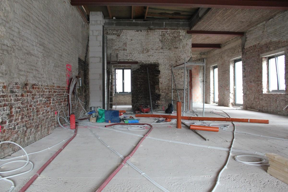 Loft met mezzanine